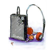 Walkman Photographic Print