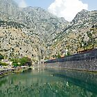 City walls of Kotor, Montenegro by JenniferLouise