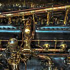 Rolls Royce Engine by Michael Sanders