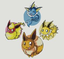 Eevee Original Transformations! by silverkid
