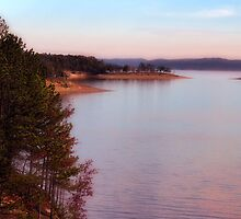 Broken Bow Lake by Carolyn  Fletcher
