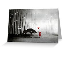little red riding hood ~ be my valentine Greeting Card