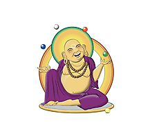 The Juggling Buddha - Color Photographic Print
