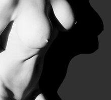 Nude and her shadow by penambra