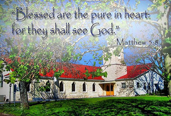Matthew 5:8 by venny