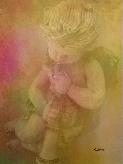 Blessed Cherub by Rosemary Sobiera