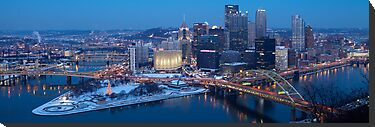 Pittsburgh Panorama by Mark Van Scyoc