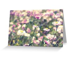 Celebration of Spring : Invitation Greeting Card