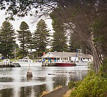 The harbour at Port Fairy #2 by Roger Neal