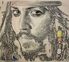 Captain Jack Sparrow by Peter Brandt
