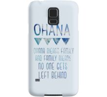 Ohana Means Family Samsung Galaxy Case/Skin