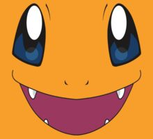 Charmander Pokemon Face by Andaimaru