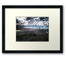 No Smoke Without Fire Framed Print
