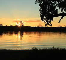 Sunrise North Creek Ballina NSW by OzNatureshots