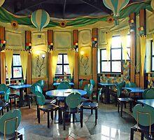 Empty tea-room by Arie Koene