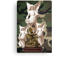 ✌☮  BLESS OUR SOLDIER'S PRESENCE OF ANGELS✌☮  Canvas Print