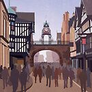 Chester - The Eastgate Clock by chayground