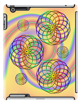 Spirals .. iPad case by LoneAngel