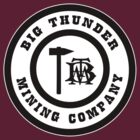 Big Thunder Mining Logo Black by AngrySaint