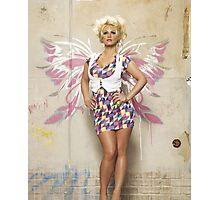 Graffit Fairy - Angel Photographic Print