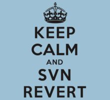 Keep Calm Geeks: SVN Revert by Ozh !