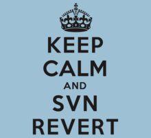 Keep Calm Geeks: SVN Revert by Ozh !