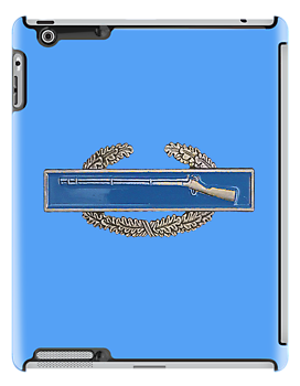 Combat Infantry Badge - CIB -  iPad Case by Buckwhite