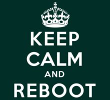 Keep Calm Geeks: Reboot by Ozh !