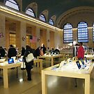 Apple Store Located on Balcony of Grand Central Terminal, New York City by lenspiro