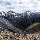 Wallowa Mountains Oregon  by Don Siebel