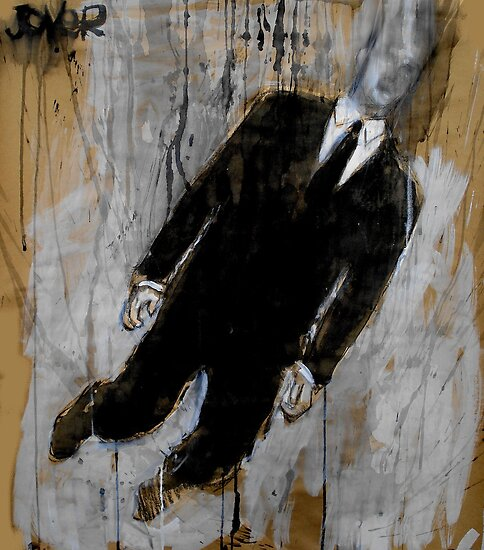 falling man by Loui  Jover