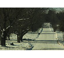Icy Roads Of The North Photographic Print