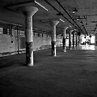 New Industries Building - Alcatraz Island, San Francisco by Phil McComiskey