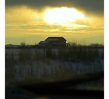 Determined Sun..Outside Jentura, Oregon Photographic Print