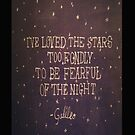 Galileo Quote - Iphone Case  by sullat04