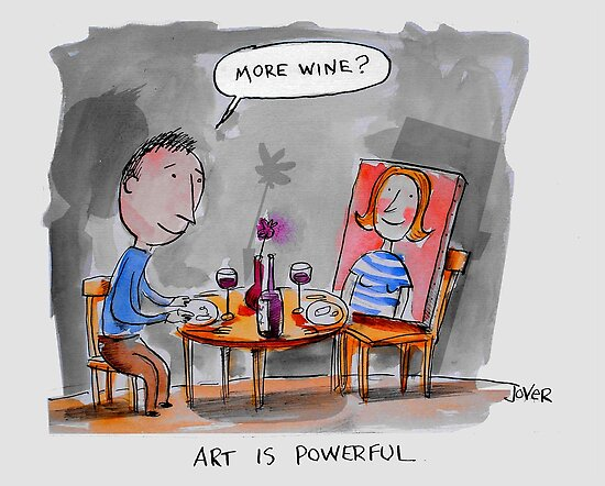 art is powerful by Loui  Jover