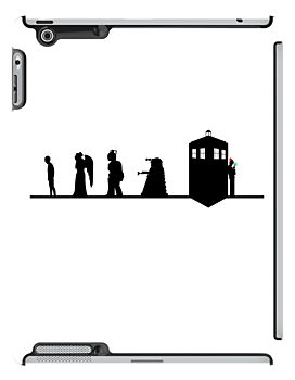 Iconic Doctor Who Villain Silhouettes by jlechuga