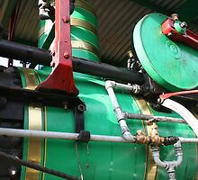 Detail- Steam Traction Engine, Steamfest, Sheffield Tasmania  by PepperPotPics