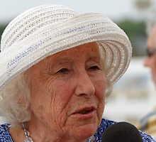 Dame Vera Lynn by Keith Larby
