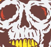 Skull Face Pilot Airman  Sticker