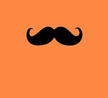 Funny Black Mustache 10 by Nhan Ngo