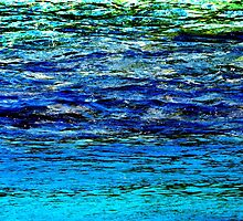 Shades of Blue by Kathie Nichols