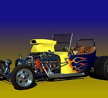 1923 Ford Bucket T Hot Rod by TeeMack