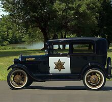 1929 Ford Model A Sheriff's Car by TeeMack