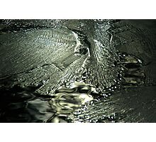 Contrast on Ice - I Photographic Print