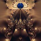 Her Majesty Fractal by Sharon Woerner