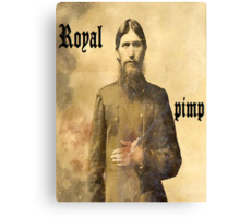 Rasputin is the man Canvas Print