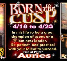 Cusp of Aries Taurus zodiac  by Valxart