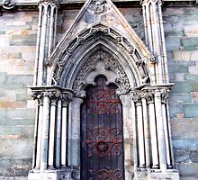Nidarosdomen Cathedral – A Door by apoetsjournal
