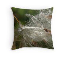 Glistening Seeds Throw Pillow